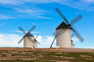 They Are windmills, Not Giants